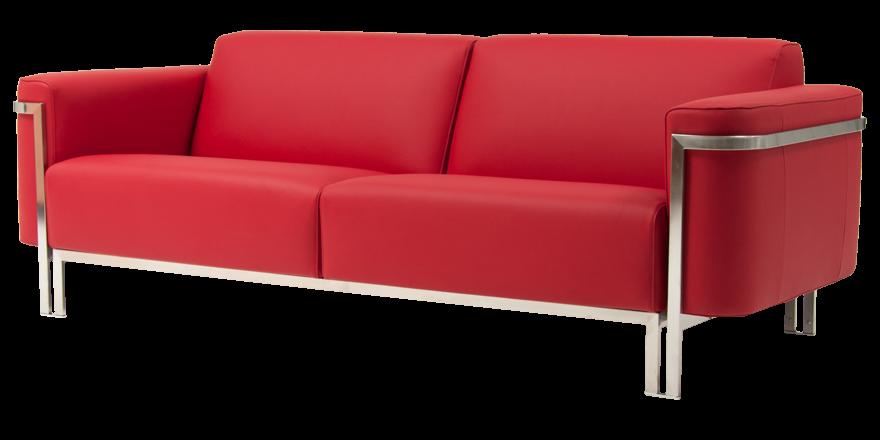 Rode Leren Design Bank.Flink Luxe En Comfortabel Harvink Banken